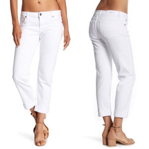 Kut From the Kloth Katy Boyfriend White Jean 8P
